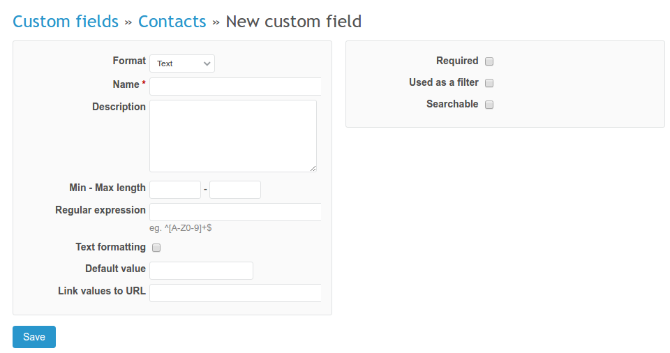 Contacts and companies | CRM plugin documentation