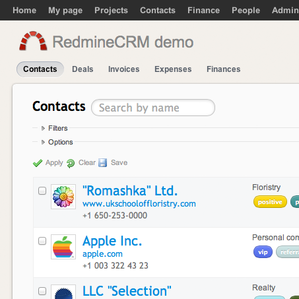 Redmine Coffee theme