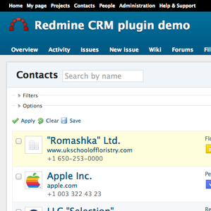 Redmine Highrise theme
