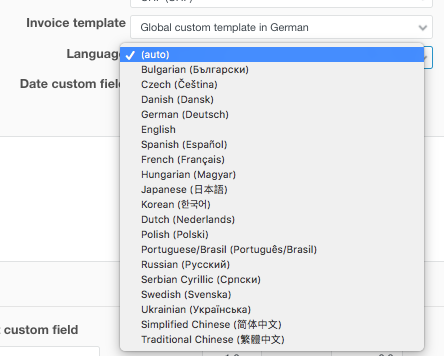 Tip Tuesday Creating Universal Invoice Template For Many Languages